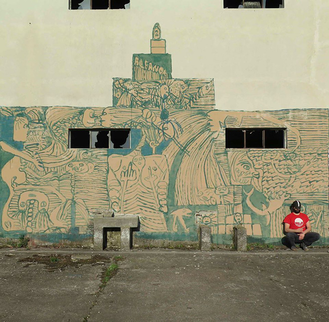 Alfano - Wall mural