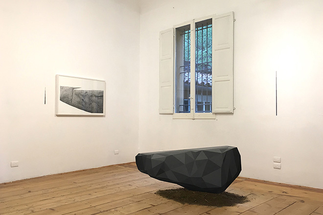 Robert Ciredz - Installation view