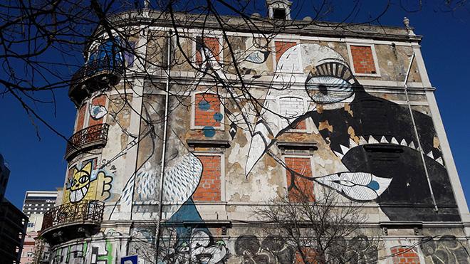 Lucy McLauchlan - Picoas, Street art, Lisbona