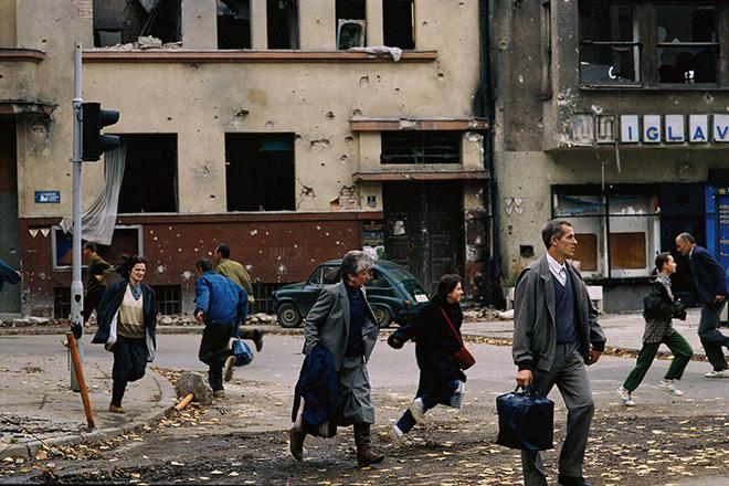 Mauro Galligani - Sarajevo, 1992