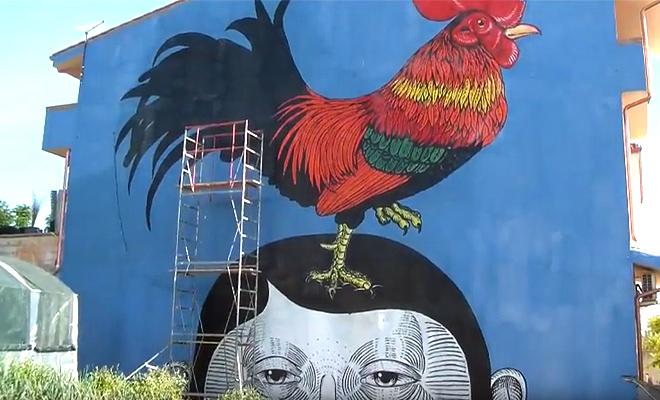 Andrea Casciu - Street art Masullas