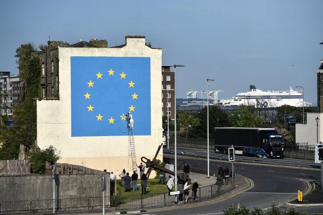 Banksy - La Brexit in un murales