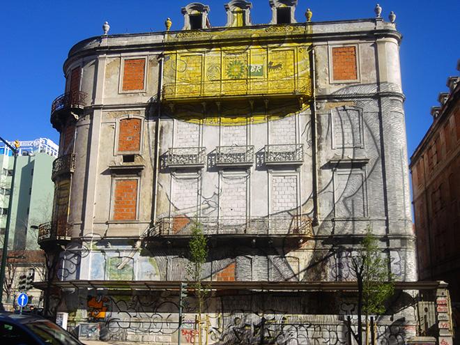 Blu - Picoas, Street art, Lisbon