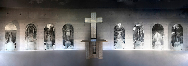 Gonzalo Borondo - Cenere, Cimitero di Selci. photo credit: Blind Eye Factory