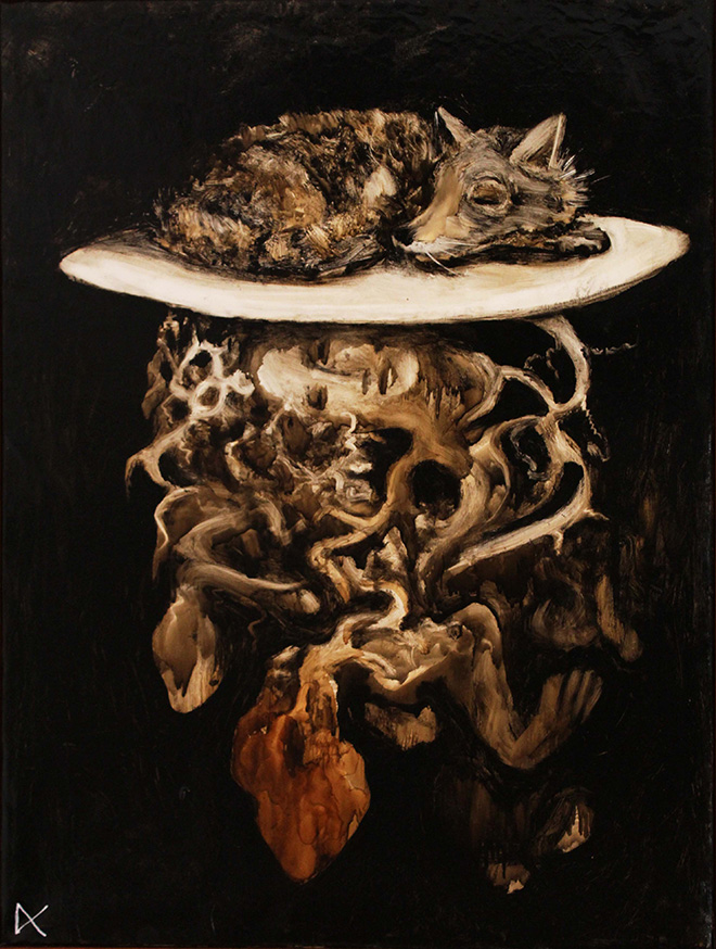 Domenico Canino - The fox and the anthropocentrism