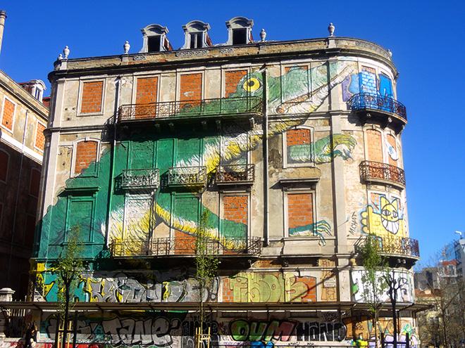 Ericailcane - Picoas, Street art, Lisbona