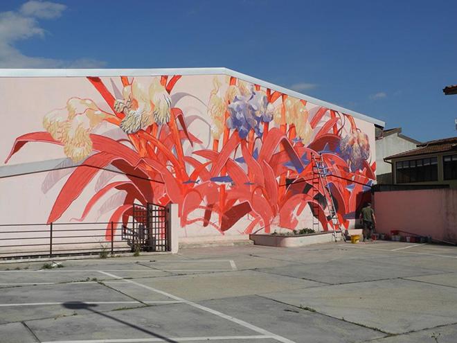 Hitnes - Street art Masullas