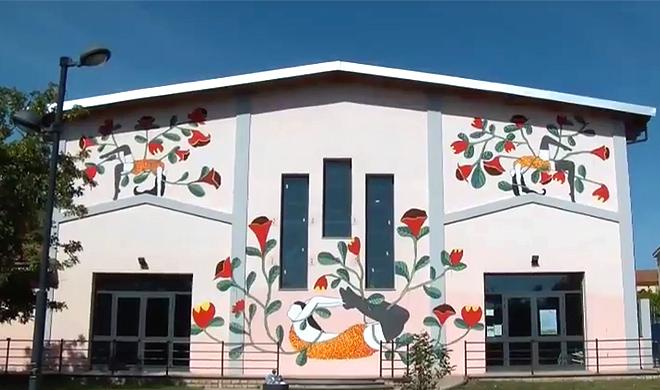 Street art Masullas – La street art colora ed educa