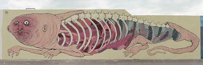 NemO's + Nulo - Vedo a colori, Street Art nel porto di Civitanova Marche
