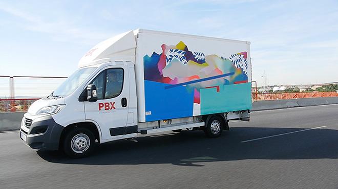 Nuria Mora - Truck Art project
