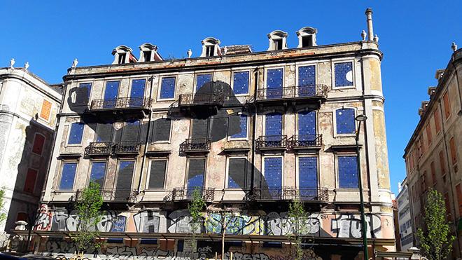 Sam3 - Picoas, Street art Lisbona