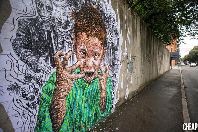 CHEAP – Bologna, Street Poster Art festival 2017