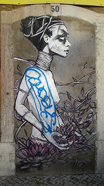 Tamara Alves - Street art, Lisbona