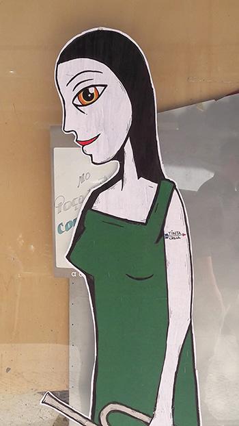Tinta Crua - Street art, Lisbona