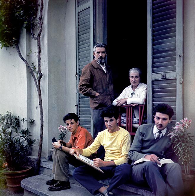Cesare Colombo - Autoritratto, 1954