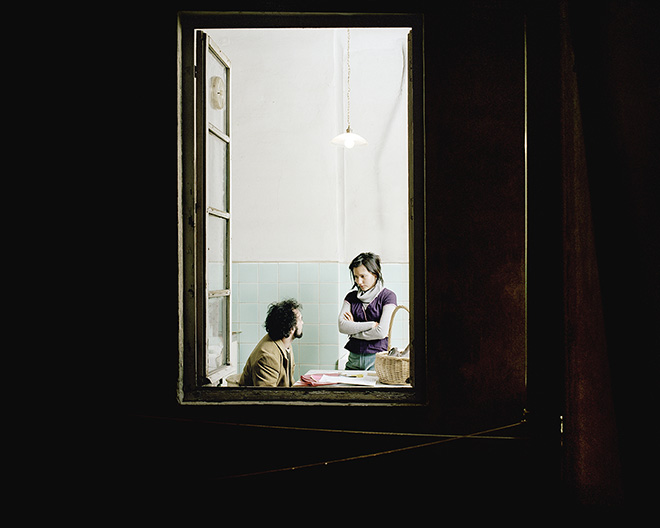 Giorgio Barrera - Dalla serie Attraverso la finestra, 2002