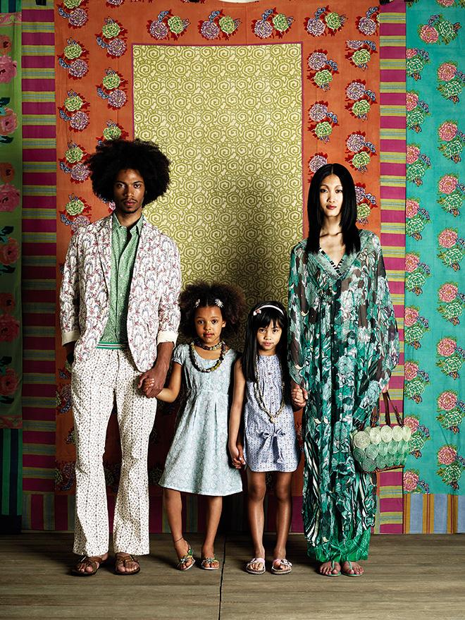 Giovanni Gastel - Ritratto di famiglia per Vanity Fair, 2009