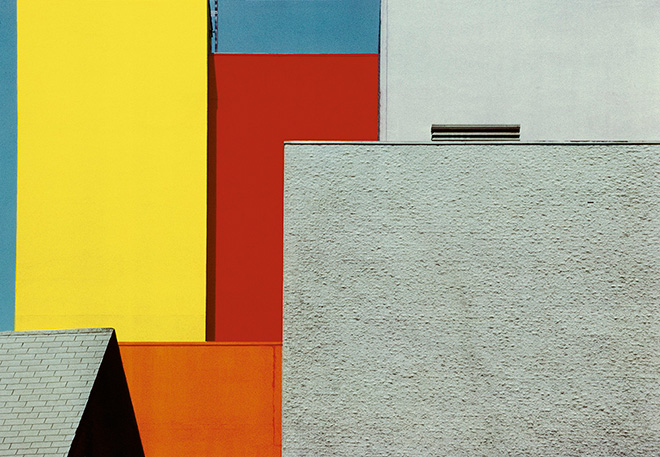 Franco Fontana - Urban landscape, Los Angeles, 1991