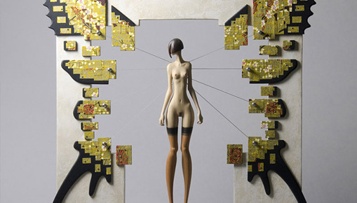 John Morris - Sculture surreali