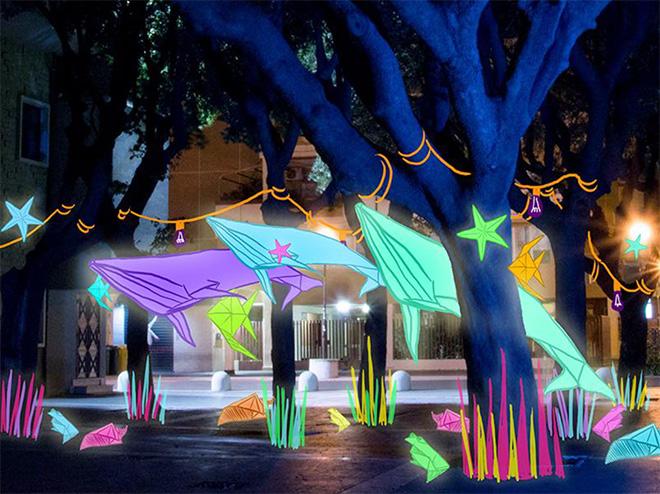 Pomezia Light Festival – Luce e Arte Urbana