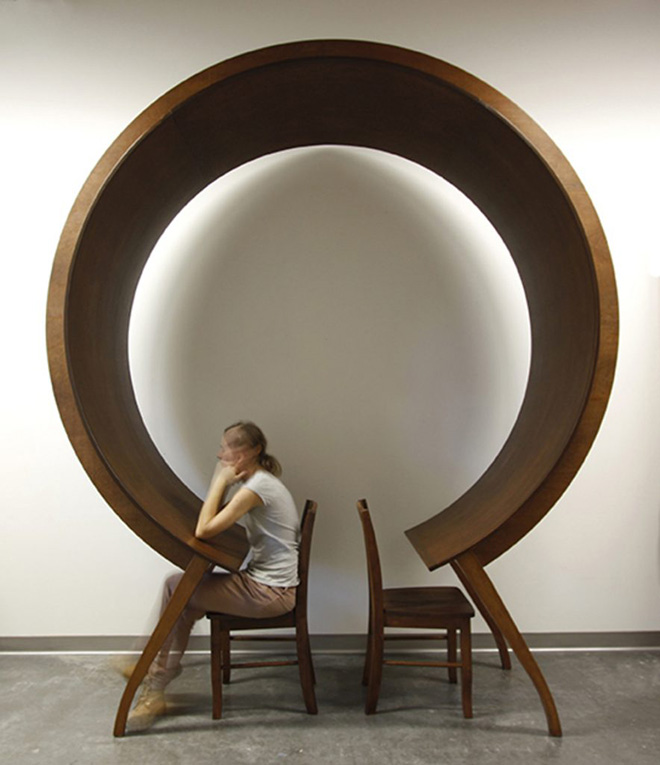 Michael Beitz - Table, wood, 2016