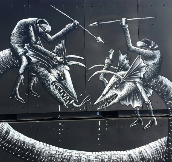 Phlegm - North West Walls, 2017, Werchter (Be)