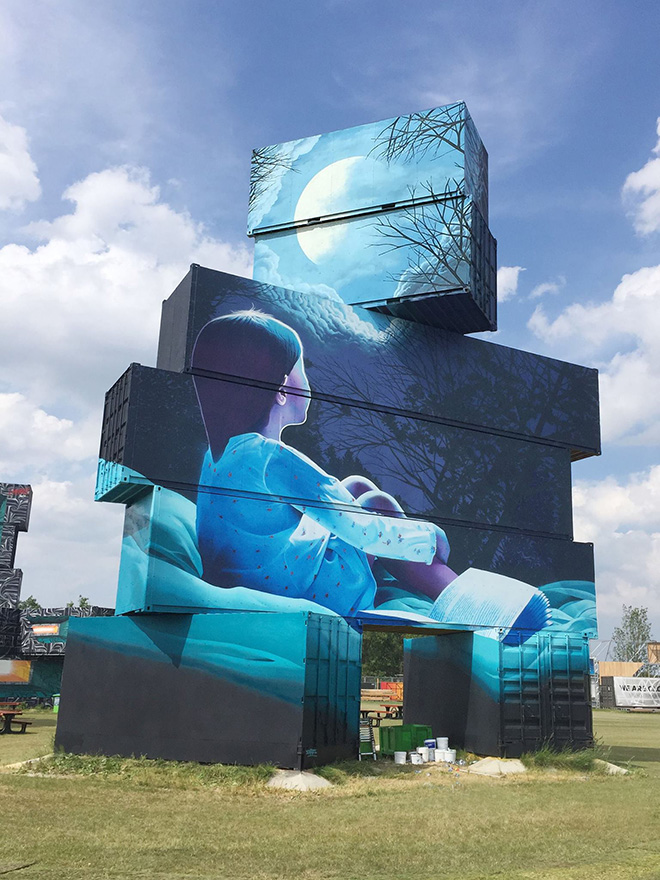 Smates - North West Walls, 2017, Werchter (Be)
