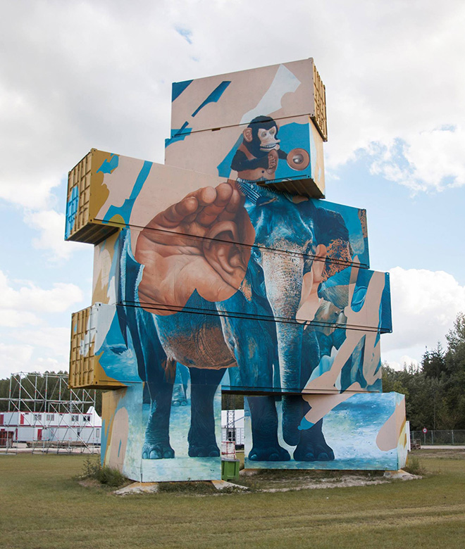 Telmo Miel - North West Walls, 2017, Werchter (Be)