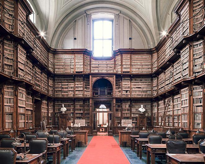 Thibaud Poirier - Libraries, Biblioteca Angelica, Rome