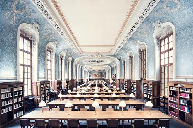 Thibaud Poirier - Libraries, Bibliothèque de la Sorbonne, Salle Jacqueline de Romilly, Paris, 1897