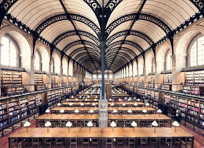 Thibaud Poirier - Bibliothèque Sainte-Geneviève, Paris, 1850