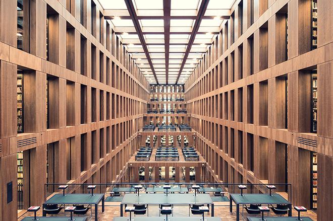 Thibaud Poirier - Libraries, Grimm Zentrum Library, Berlin, 2009