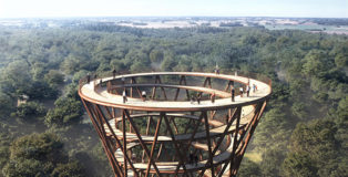EFFEKT - The Treetop experience, Observation Tower, Denmark