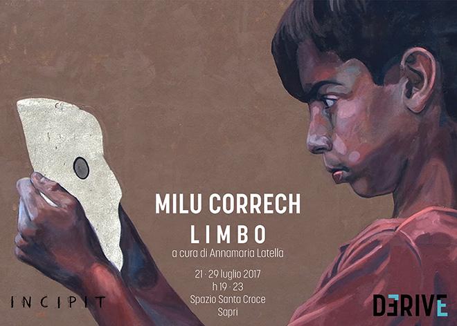 Milu Correch - LIMBO solo show, Sapri, 2017