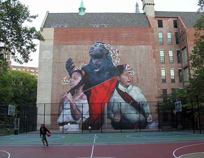 Ever - The second conquest, East Harlem, NYC, 2015
