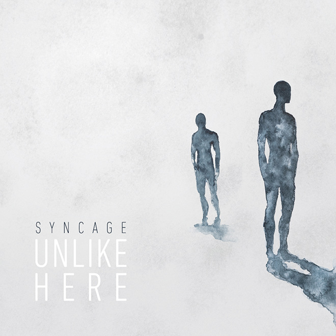 Syncage - Unlike Here, album cover