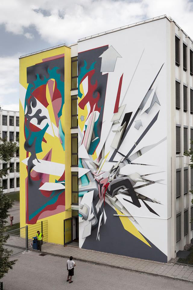 Daniel Man + Daim - SCALE, Urban WallArt Munich