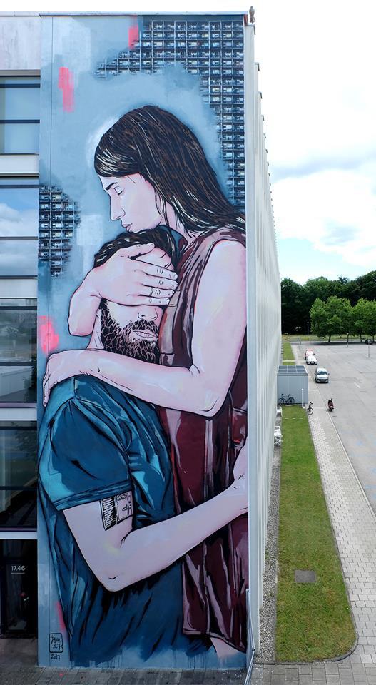 Jana & Js - SCALE, Urban WallArt Munich