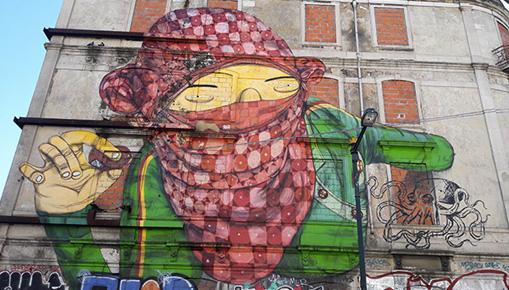 Lisbona - Un viaggio nella street art