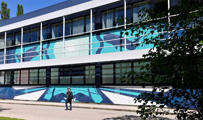 LOOMIT - SCALE, Urban WallArt Munich