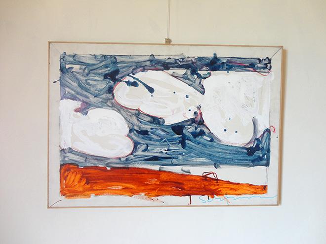 Mario Schifano - Paesaggio anemico, 1972