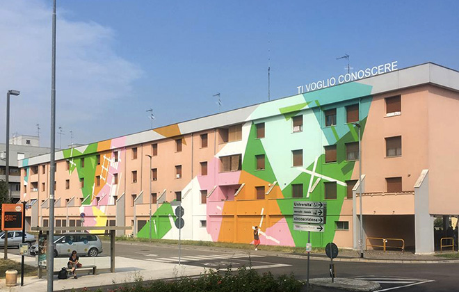 Without Frontiers – Street art a Mantova