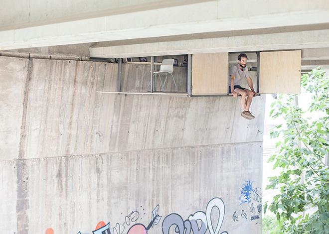 Fernando Abellanas - Il rifugio dalla città nella città