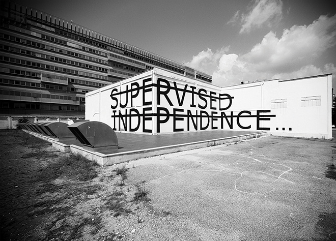 Rero - Untitled (SUPERVISED-INDEPENDENCE), Rome, Italy, 2013