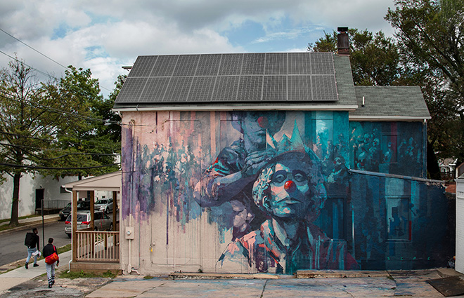 Sepe - Another Brick in the Wall, Washington (USA), 2016