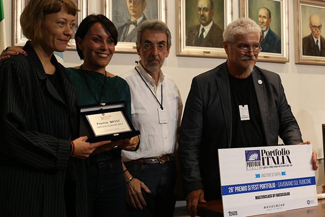 Špela Volčič - Vincitrice 26° premio SI Fest Portfolio con Et Fiat Lux
