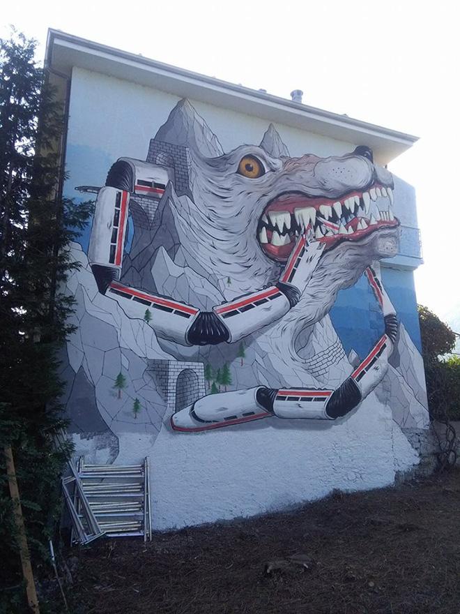 Alleg - Wall Susa, Villar Focchiardo, 2017