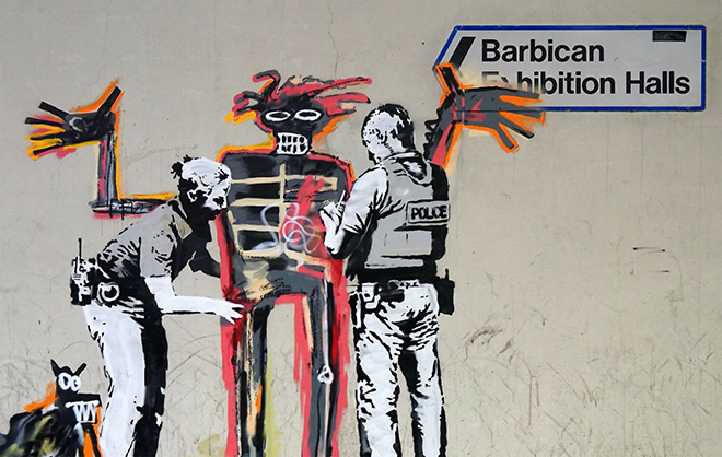 Banksy - Basquiat, Barbican Centre, London