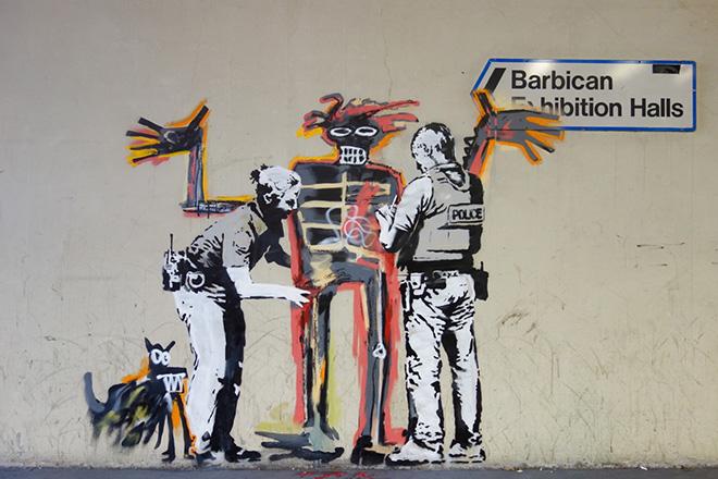 Banksy – Tributo a Basquiat