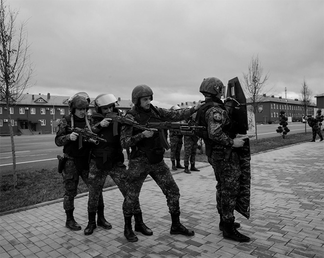 "©Davide Monteleone - Spasibo. Since 2008, Ramzan Kadyrov has controlled all of the Chechen forces, and has placed former commanders of his militia in the most important government positions. These units are involved in ""anti-terrorist operations"" and, according to several organizations, have often violated human rights."